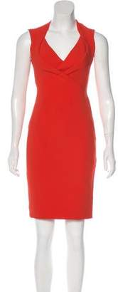 Antonio Berardi Sleeveless Knee-Length Dress