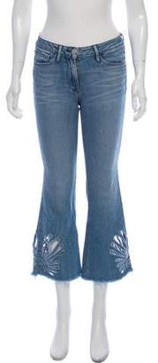 3x1 Embroidered Wide- Leg Jeans