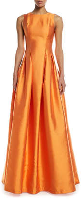 Sachin + Babi Marmara Taffeta Sleeveless Ball Gown