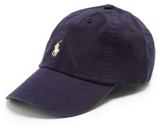 Polo Ralph Lauren Logo Embroidered Cotton Cap - Mens - Navy f112cd45892