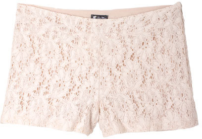 Lily White Lace Tap Short