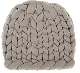 Eugenia Kim Women's Siggy Chunky Rib-Knit Wool Beanie-Light Gray