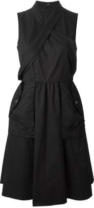 Marc by Marc Jacobs crisscross strap detail dress