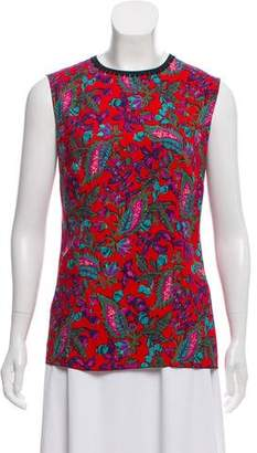 Andrew Gn Sleeveless Printed Top