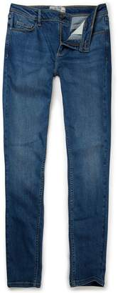 Next Womens FatFace Mid Blue Jegging