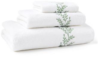 Hamburg House 3-Pc Willow Towel Set - Green