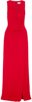 Lanvin - Gathered Crepe Gown $2,770 thestylecure.com