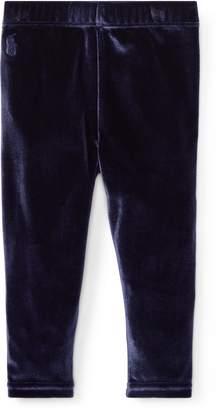 Ralph Lauren Stretch Velvet Legging