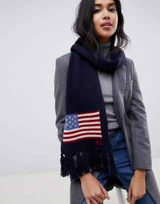 Polo Ralph Lauren flag scarf