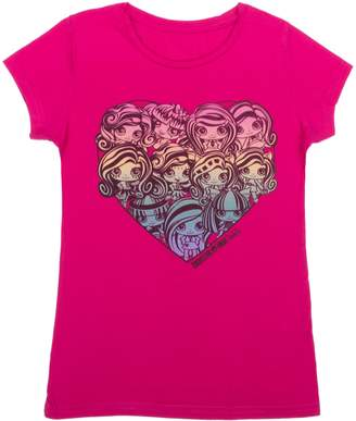 Monster High Girls Short Sleeve T-Shirt