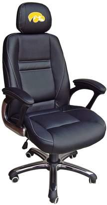 Kohl's Iowa Hawkeyes Head Coach Leather Office Chair