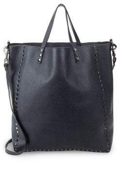 Valentino Deep Leather Tote
