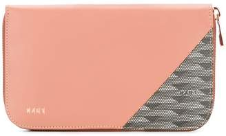 K/A/R/T panelled wallet