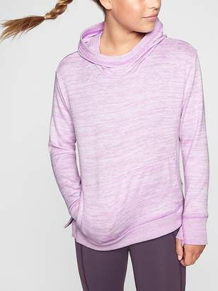 Athleta Girl Kickin' It Funnel Neck Hoodie