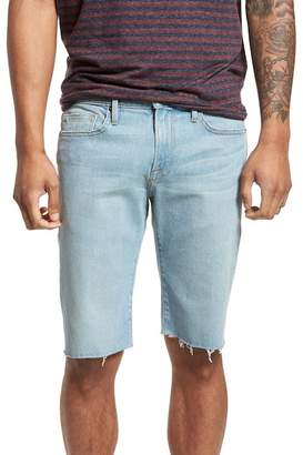Frame L'Homme Cutoff Denim Shorts (Crosby)