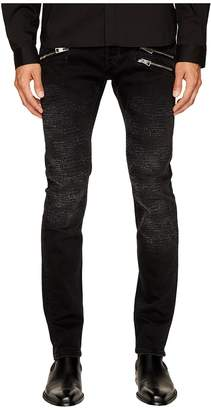 Just Cavalli Destroyed Zipper Jeans Men's Jeans