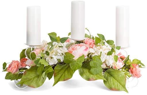 Mixed Floral Candleholder