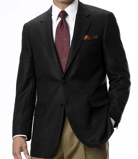 Jos. A. Bank Signature 2-Button Herringbone Sportcoat- Sizes 54-60