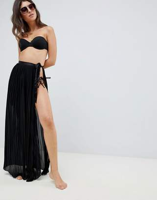Lipsy Pleated Maxi Skirt