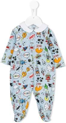 Fendi all-over print pyjamas