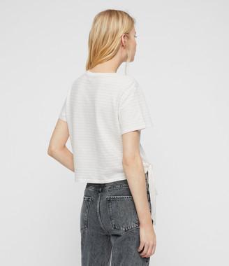 AllSaints Tujen Stripe T-Shirt