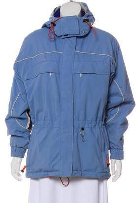 Obermeyer Hooded Zip-Up Jacket