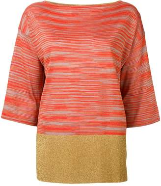 M Missoni striped tunic