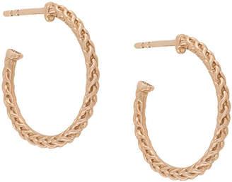 Astley Clarke medium Spiga hoop earrings