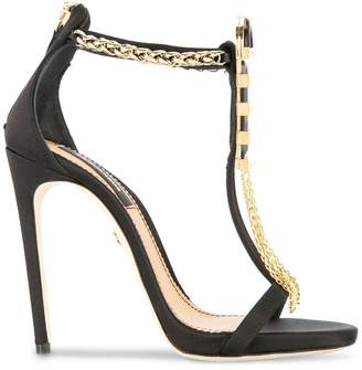 DSQUARED2 open toe embellished sandals