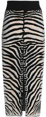 How Much Online Cheap Sale For Nice Stella Mccartney Woman Jacquard-knit Midi Skirt Animal Print Size 44 Stella McCartney Cheap Pay With Visa Clearance With Paypal 1rRLC