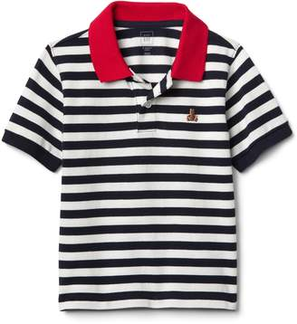 Gap Stripe Polo T-Shirt