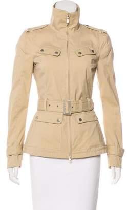 Belstaff Belted Zip-Up Jacket w/ Tags