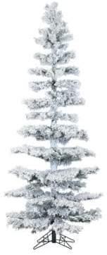 Fraser Hill Farms Hillside LED String Lighting Pine Christmas Tree- 7.5 ft.