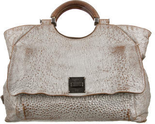 Marc Jacobs Marc Jacobs Textured Leather Satchel