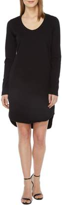 Heather French Terry Scoop Dress