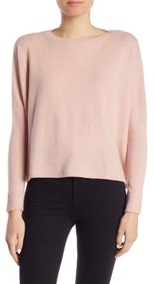 Minnie Rose Cashmere Cropped Dolman Sleeve Sweater