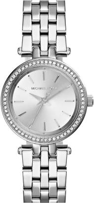 Michael Kors 'Petite Darci' Crystal Bezel Bracelet Watch, 26mm