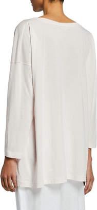 eskandar Ultra-Light Cotton Long-Sleeve T-Shirt