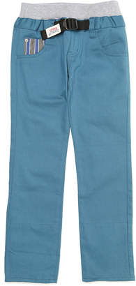 Crocs (クロックス) - crocs apparel ポケット切替 ウエストリブ ベルテッド パンツ ダークグリーン 110