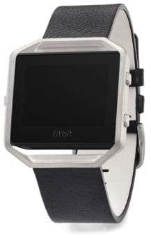 Fitbit Blaze Accessory Leather Band& Frame
