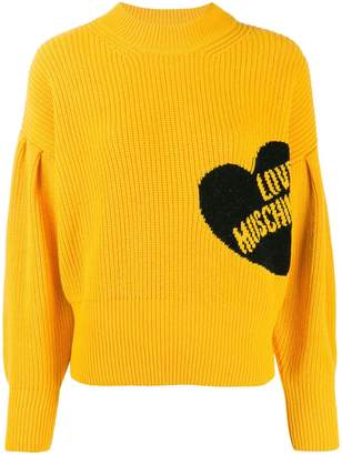 Love Moschino branded jumper