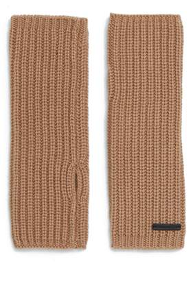 AllSaints Half-Cardigan Stitch Arm Warmers