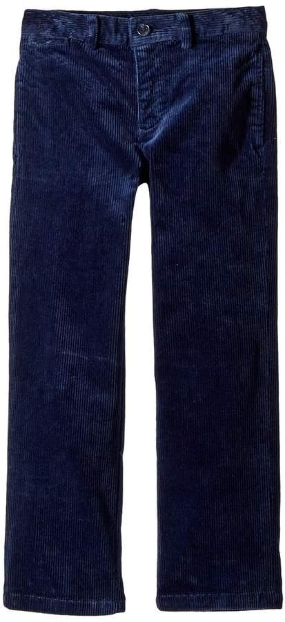 Slim Fit Stretch Corduroy Pants (Little Kids)