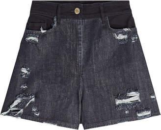 Public School Thana Distressed Denim Shorts