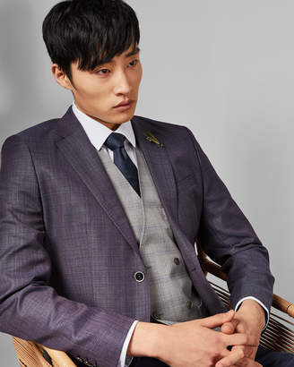 Ted Baker MOLTEN Semi plain wool suit jacket