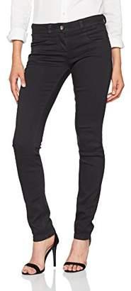Tom Tailor Women's Comfy Black Slim Alexa Trouser, 2999, L32 (Size: 34)