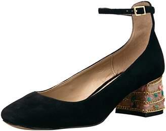 Morgan The Fix Women's Block-Heel Ankle Strap Dress Pump