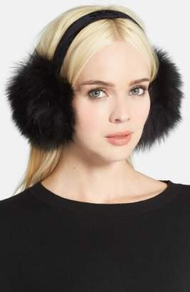 KYI KYI Genuine Fox Fur Earmuffs
