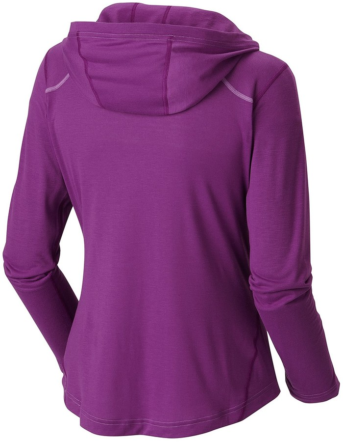 Mountain Hardwear @Model.CurrentBrand.Name Dryhiker Hoodie Shirt - UPF 30, Long Sleeve (For Women)