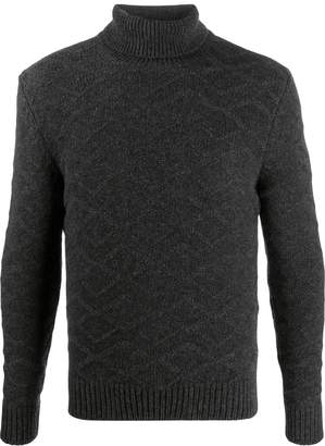 Tagliatore knitted roll neck jumper